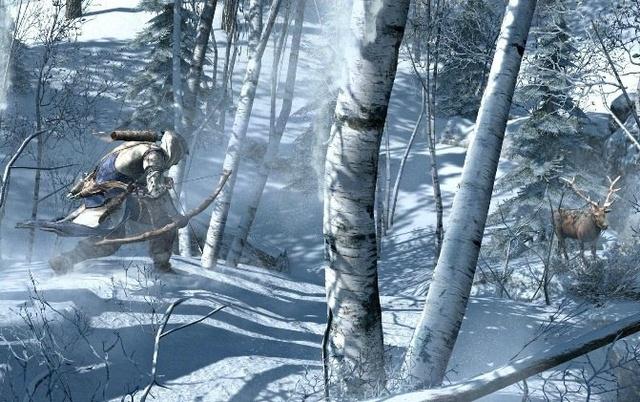 Hunting as seasons turn.
