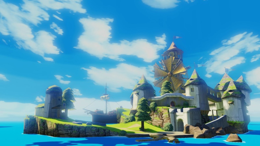 Windfall Island in all its fresh, high definition glory.